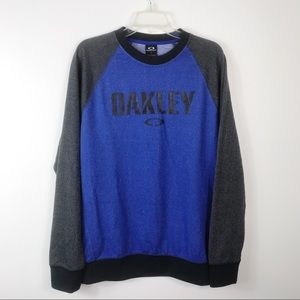Men's Oakley Spell Out Long Sleeve Sweatshirt